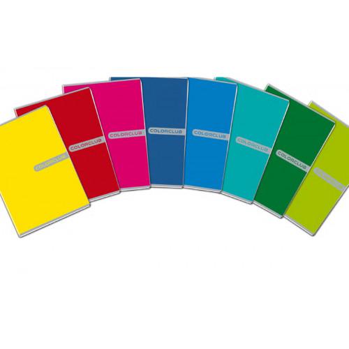 Quaderno Maxi Colorclub Scuola Media e Superiore 10 pezzi