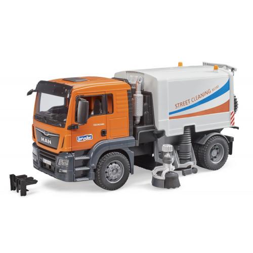 Camion Man TGS per pulizia stradale