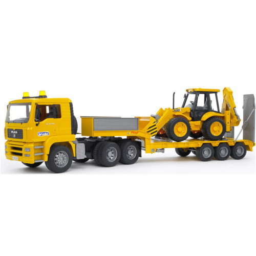 Bilico Man con escavatore JBC 4 XC