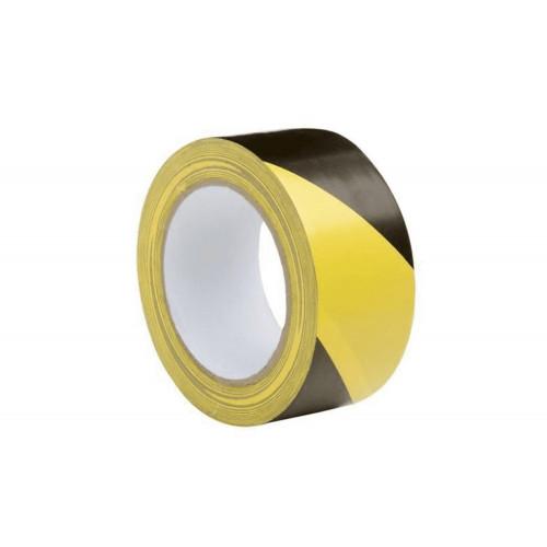 Nastro adesivo giallo/nero 50x66