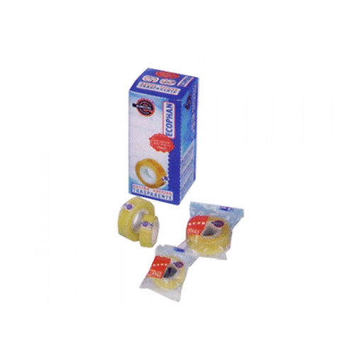Nastro adesivo Ecophan 15 mm x 33 m 10 pezzi