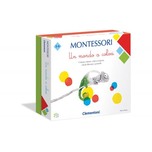 Montessori Un mondo a colori Clementoni
