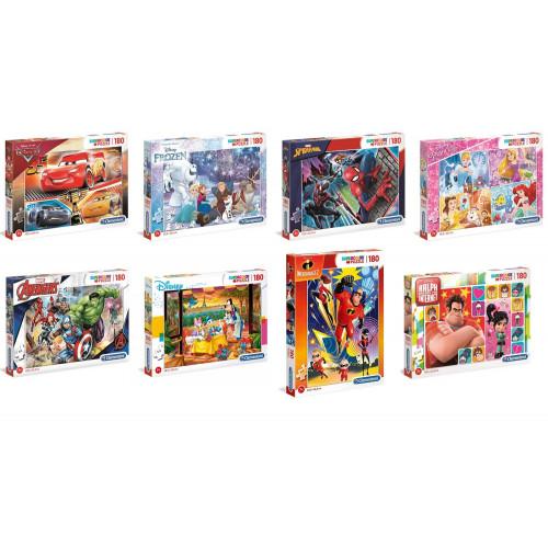 Puzzle 180 pezzi Super color brilliant