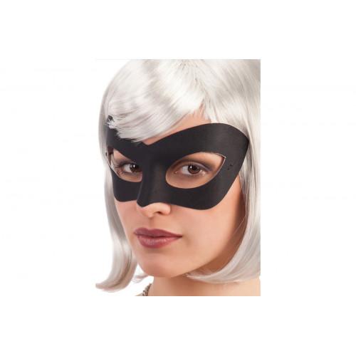 Maschera nera in tessuto Carnival Toys