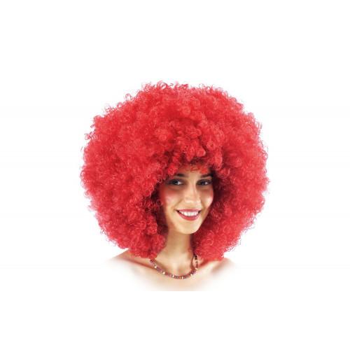 Parrucca ricciolona rossa Carnival Toys
