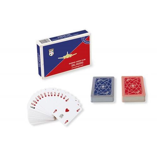 """Carte da gioco """"ramino"""" plastica Dal Negro"""