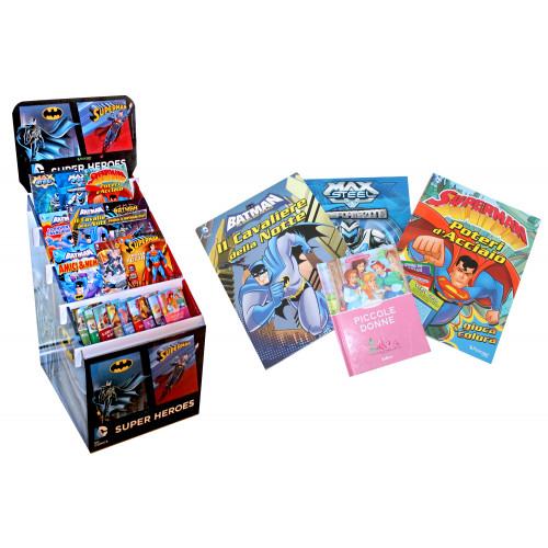 Libri Super Eroi giochi attivita' colora