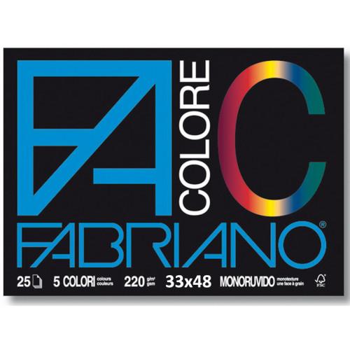 Album da Disegno Colorato Fabriano 33x48 cm 5 pezzi