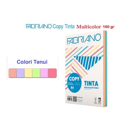 Carta copy tinta A4 multicolor tenui 100 fogli