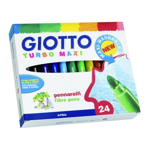 Pennarelli Giotto Turbo Maxi 24 pezzi