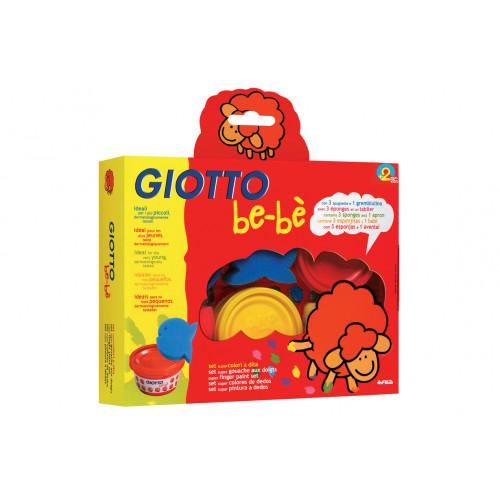 Giotto be-be' Colori a dita
