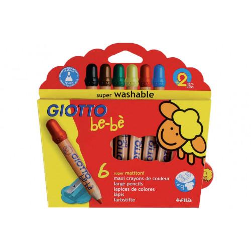 Giotto be-be' matitoni da 6 new