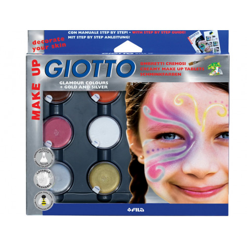 Giotto Make Up Ombretti Metal 6 colori