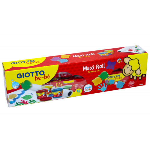 Giotto be-be' Maxi Roll Painting Set