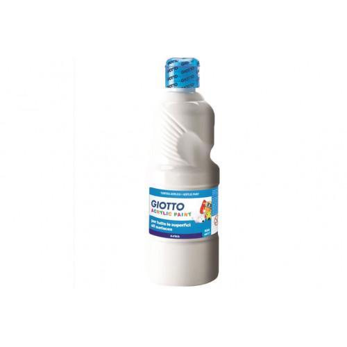 Tempera Acrilica Giotto 500 ml Bianco