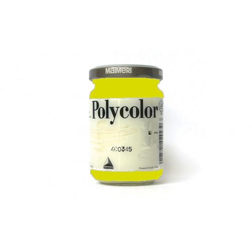 Vasetto Polycolor Maimeri Verde Giallastro 140 ml