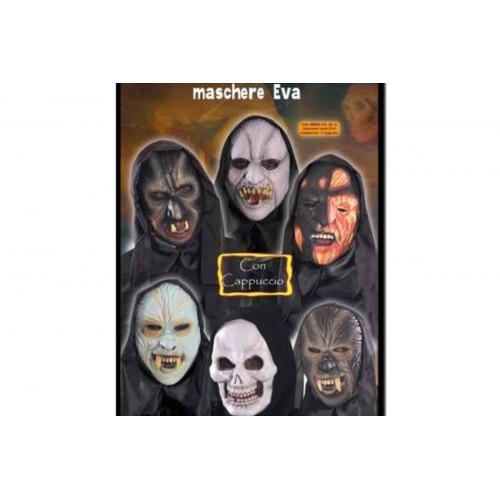 Maschera eva c/cappuccio