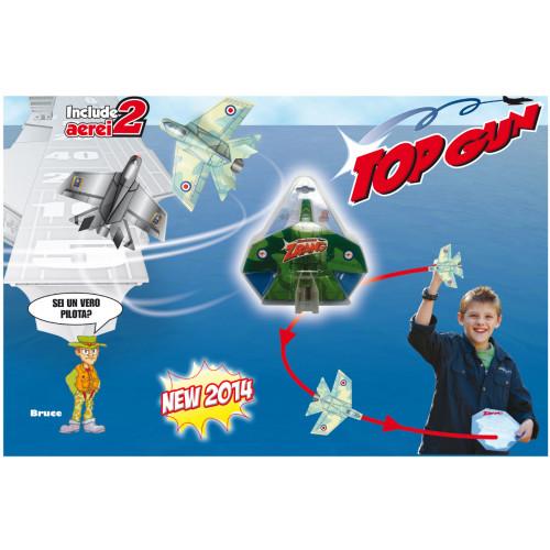 Aereo Top Gun 2 pezzi Grandi Giochi