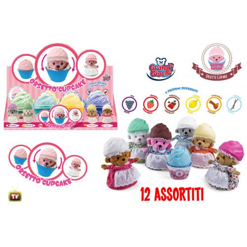 Orsetto Cupcake Grandi Giochi