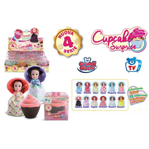 Cupcake Surprise 12 Bambole 4o Serie