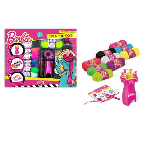 Maglieria Magica crea Pon Pon di Barbie Grandi Giochi