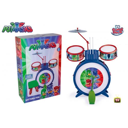 PJ Masks batteria con sgabello Grandi Giochi