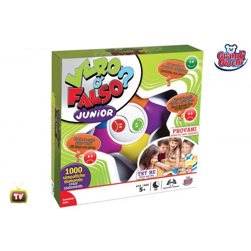 Vero o falso junior gioco in scatola Grandi Giochi