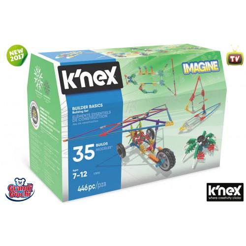 K'nex Imagine Builder basics 446 pezzi Grandi Giochi
