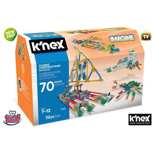 K'nex Imagine Classic Constructions 705 pezzi Grandi Giochi