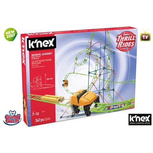 K'nex Infinite Journey 347 pezzi Grandi Giochi