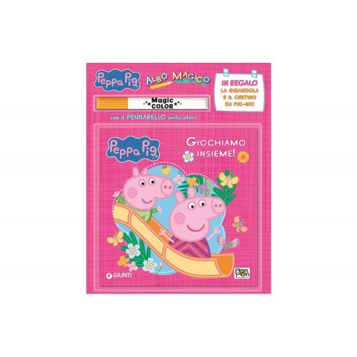 Libro Giochiamo insieme! Albo magico Peppa Pig