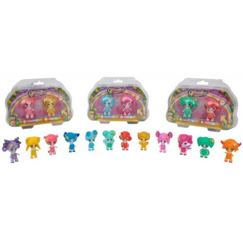 Glimmies rainbow friends 2 bamboline Giochi Preziosi