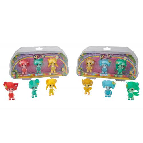 Glimmies Rainbow Friends 3 personaggi