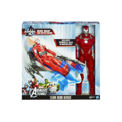 Iron Man personaggio con veicolo Hasbro