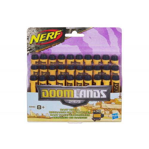 Nerf strike 30 dardi ricambio Doomlands Hasbro
