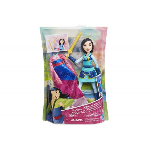 Mulan con spada e abito Disney Princess