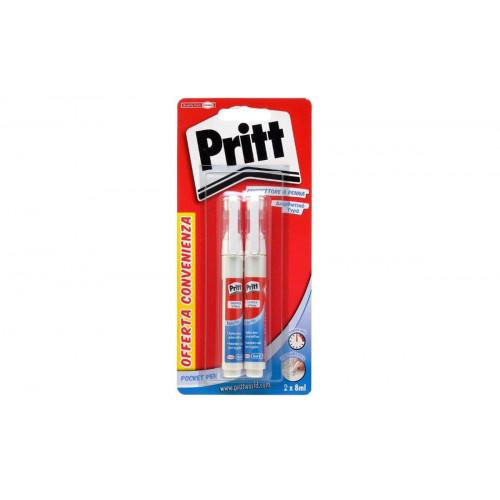 Pritt Correttore Pocket Pen 8 ml 2 pezzi
