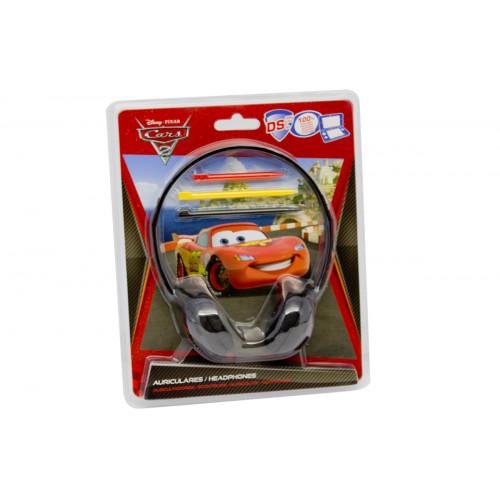 Cuffie Cars con 3 pennini Disney