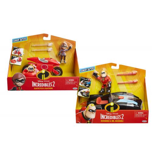 Incredibles 2 Personaggio con veicolo