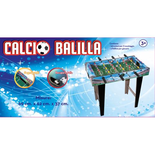 Calcio Balilla con Gambe in Legno