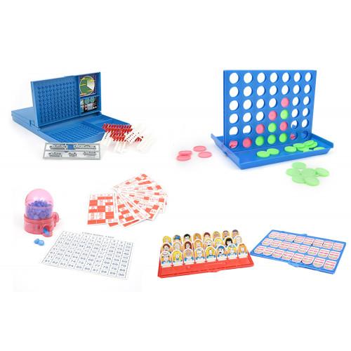 Mamatoy Super Pack 4 Giochi Tavolo