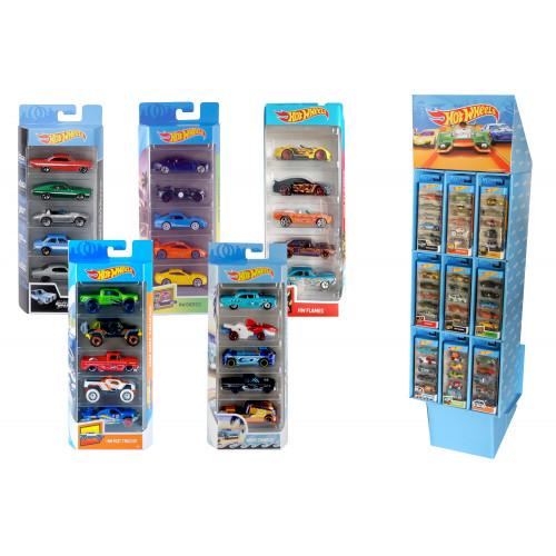 Hot Wheels pack 5 veicoli Mattel