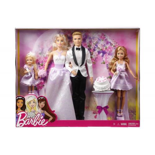 Barbie e Ken con Damigelle Wedding Day