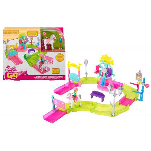 Barbie Parti e Vai Il Luna Park Mattel