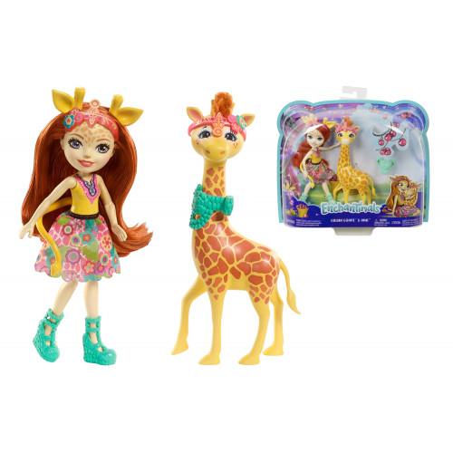 Enchantimals Gillian la Giraffa e Pawl