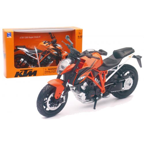 Moto KTM 1290 Superduke scala 1:12
