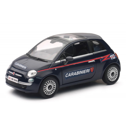 Auto Fiat 500 Carabinieri 1:24