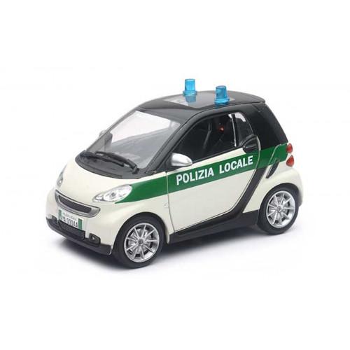 Auto Smart Fortwo Polizia Locale 1:24