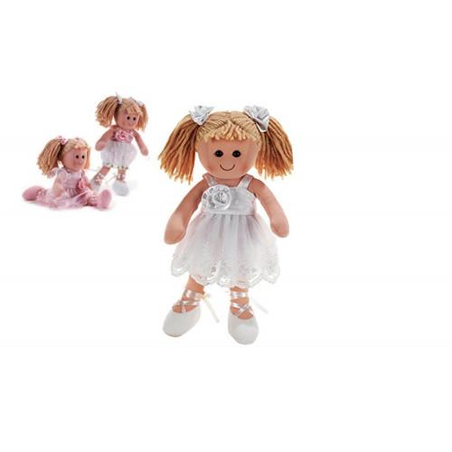 Bambola Carlina di Pezza 35 cm