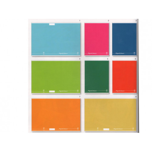 Maxi quaderno cartonato pigna colours rig.1R cf.3